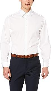 Van Heusen Men's Euro Tailored Fit Shirt Cotton