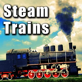 Steam Train Passes by with Bell Ringing & Whistle Blasting