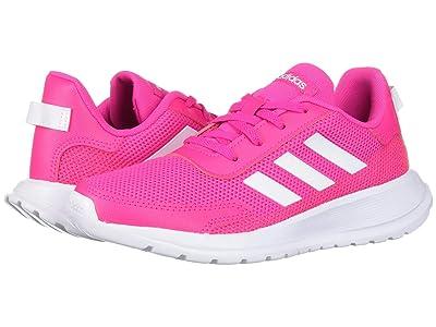 adidas Kids Tensaur Run (Little Kid/Big Kid) (Shock Pink/White/Light Granite) Girl