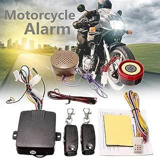 Gavita-Star - 200M 2 Remote Controllers Motorcycle Alarm System Lock Talkin Voice Moto Bike Scooter Anti-theft Security Alarm Horn Speaker