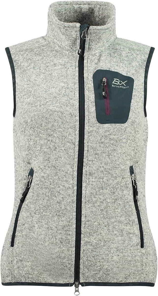 Horze B Vertigo BVX New mail order Women's Zarina GREY Soft Fle Mail order cheap Melange Knitted
