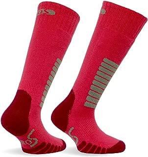 Eurosocks Junior Ski Supreme Socks, Tailored For Children, Padded, Flat Toe Seams, Micro Supreme Warmth-0412J