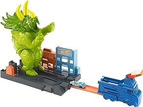 Hot Wheels Smashin' Triceratops Playset