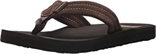 Quiksilver Carver Suede Youth Flip-Flop (Toddler/Little Kid/Big Kid)