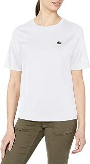 Lacoste Women's Short Sleeve Boxy Fit Jersey T-Shirt