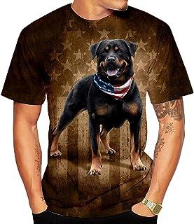 Emlyn Adrian Rottweiler T Shirt Sleeves