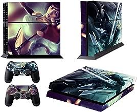 EBTY-Dreams Inc. - Sony Playstation 4 Original (PS4 Original) - Final Fantasy 7 VII FF7 FFVII Tifa Lockhart Cloud Strife Vinyl Skin Sticker Decal Protector