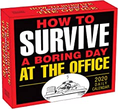 How to Survive a Boring Day at the Office 2020 Boxed Daily Calendar