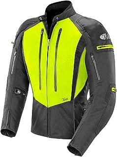 Joe Rocket Women's Atomic 5.0 Textile Jacket (Hi-Viz Yellow/Black, X-Large)