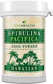 Polvo de Espirulina - Polvo Pacífica de Espirulina Hawaiana de 250g