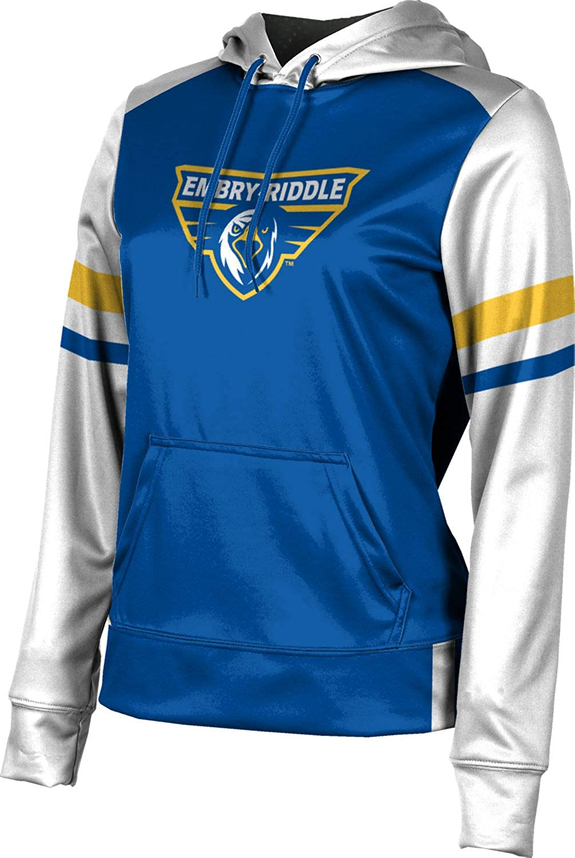 Embry-Riddle Aeronautical University Prescott Girls' Pullover Hoodie, School Spirit Sweatshirt (Old School)