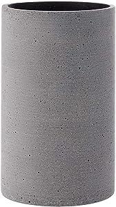 Blomus Coluna Vase, Beton, hellgrau, H 20 cm, Ø 12 cm
