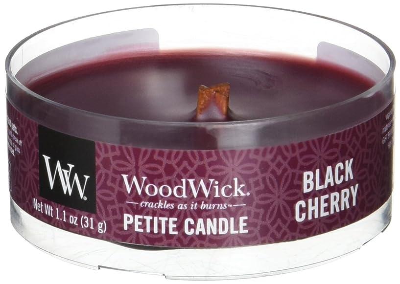 ドリル容赦ない振り子Wood Wick ウッドウィック プチキャンドル ブラックチェリー