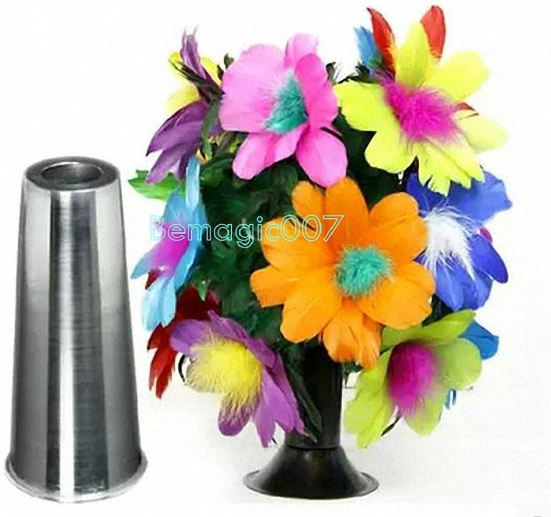 Stage Magic Tricks Tube To Flower