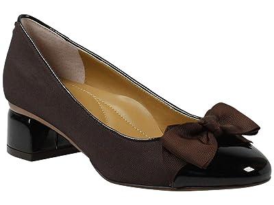J. Renee Gelar (Chocolate Cross Grain) High Heels