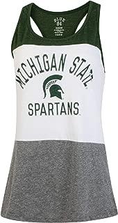 Michigan State University Spartans NCAA Women Tank Top Shirt