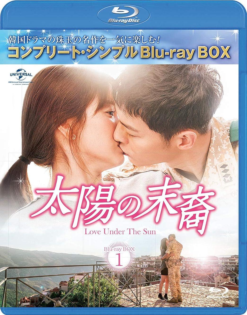 太陽の末裔 Love Under The Sun BD‐BOX1(コンプリート?シンプルBD‐BOX6,000円シリーズ)(期間限定生産) [Blu-ray]