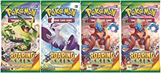 Pokémon Trading Card Game: XY - Roaring Skies Sealed Booster Pack x 4