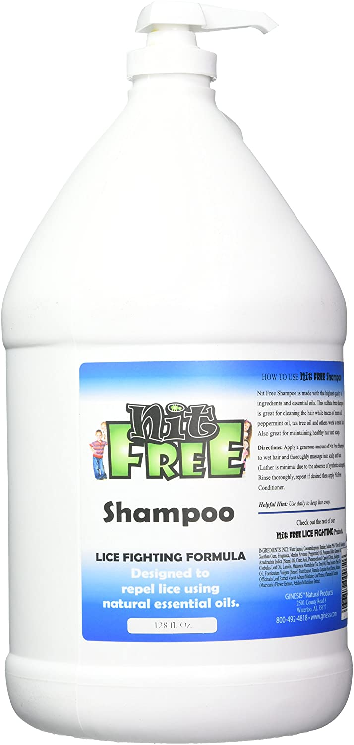 Nit Free Natural Shampoo 1-Gallon security Large-scale sale