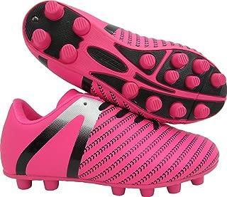 Baby Impact FG Soccer Shoe, Pink/Silver, 10 Regular US Toddler
