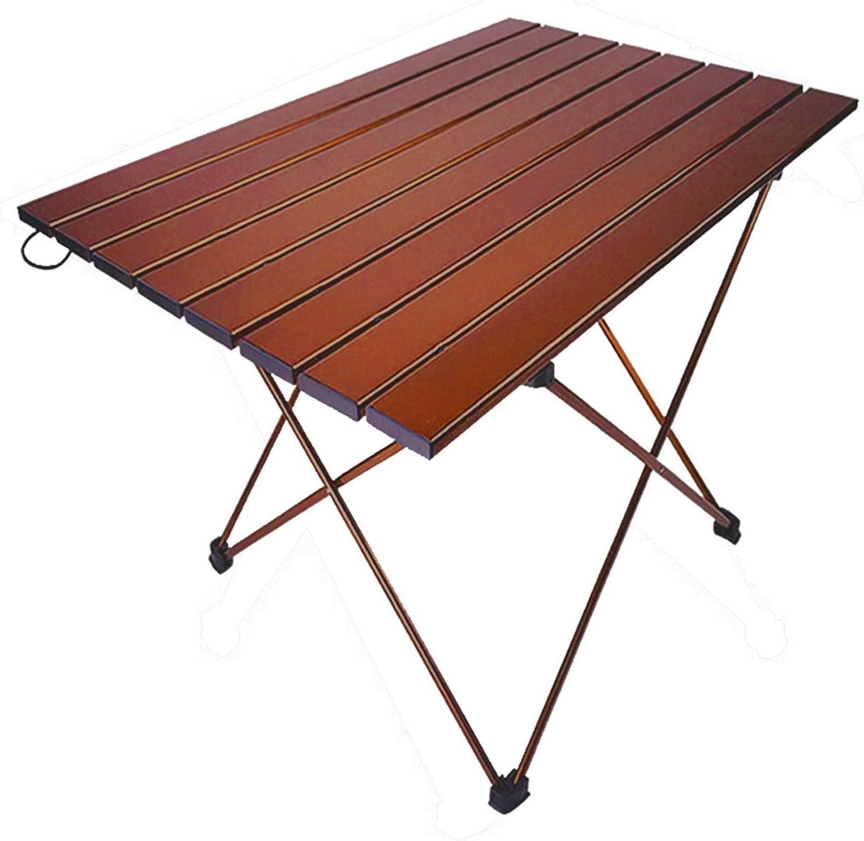 JSJJAET Ranking TOP3 New product! New type Picnic Table Portable Aluminum Beach Fishin