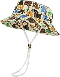 Bob Coton Chapeau de Soleil Protection Bébé Enfant