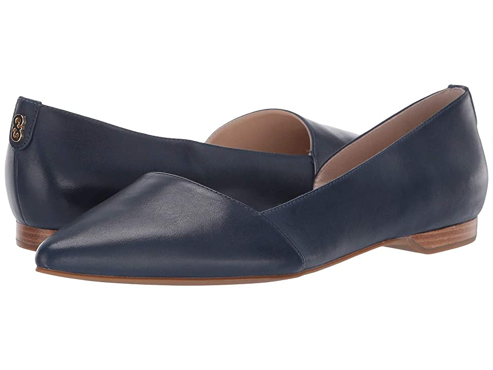 Cole Haan Bambra Skimmer II (Marine Blue Leather) Women
