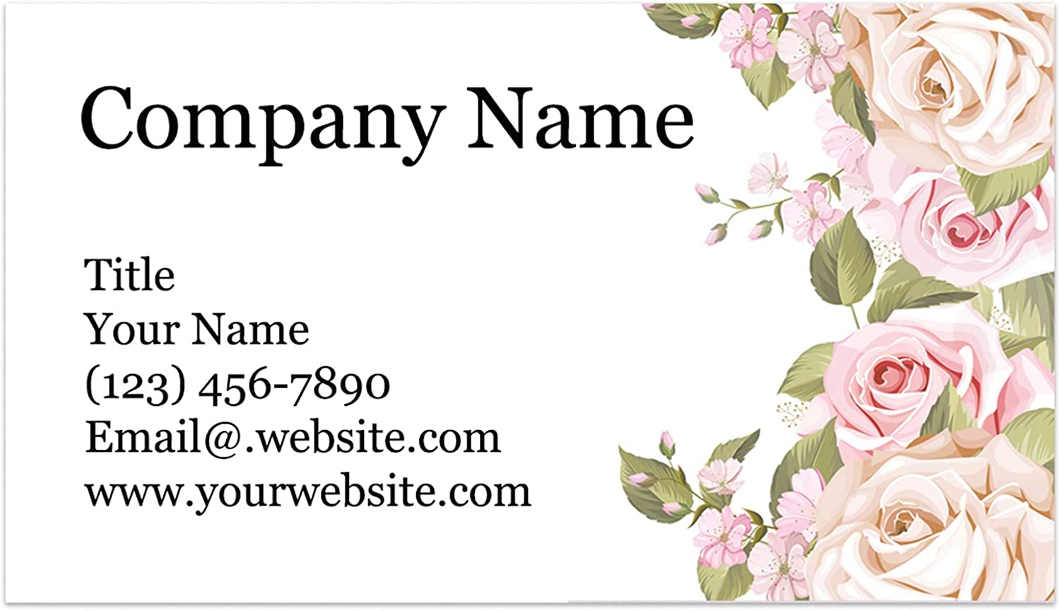 Custom Printed Dedication 100% Recycled Max 75% OFF Card Stock - Thick S Cards Business