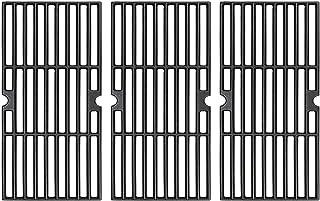 """Rejekar Cast Iron Grill Grates Replacement for DGF510SBP, DGF510SSP, DGF510SSP-D, Uniflame GBC1059WB, GBC1059WE-C, 16-1/4""""..."""