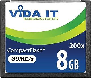 NEW 8 GB de alta velocidad 200 x CF Compact Flash tarjeta de memoria para Canon EOS 10D EOS 20Da EOS 300D EOS 30D EOS 350D EOS 400D EOS 40D EOS 50D EOS 5D Mark II EOS 7D EOS D30 SLR Cámara DIGITAL UK