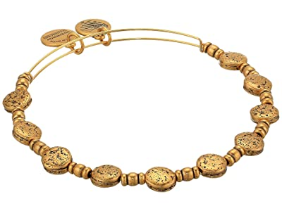 Alex and Ani Coin Charm Bangle (Rafaelian Gold) Bracelet