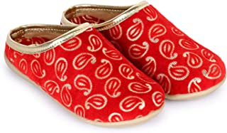 Bootie Pie Girl's Festo Majari Indian Shoes