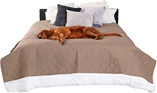 Furhaven Pet Furniture Cover for Dogs and Cats - Waterproof Quilted Twill Non-Slip Mattress Bed Blanket Protector, Washabl...