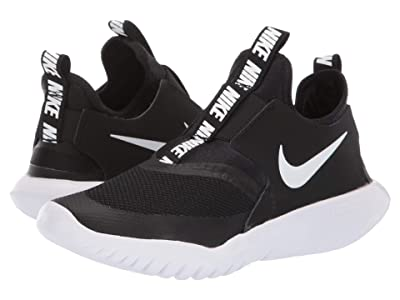 Nike Kids Flex Runner (Big Kid) (Black/White) Kids Shoes