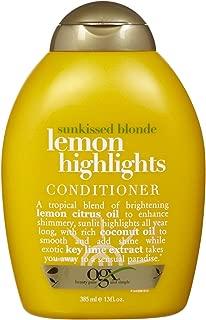 Ogx Sunkissed Blonde Lemon Highlights Conditioner - 13 oz
