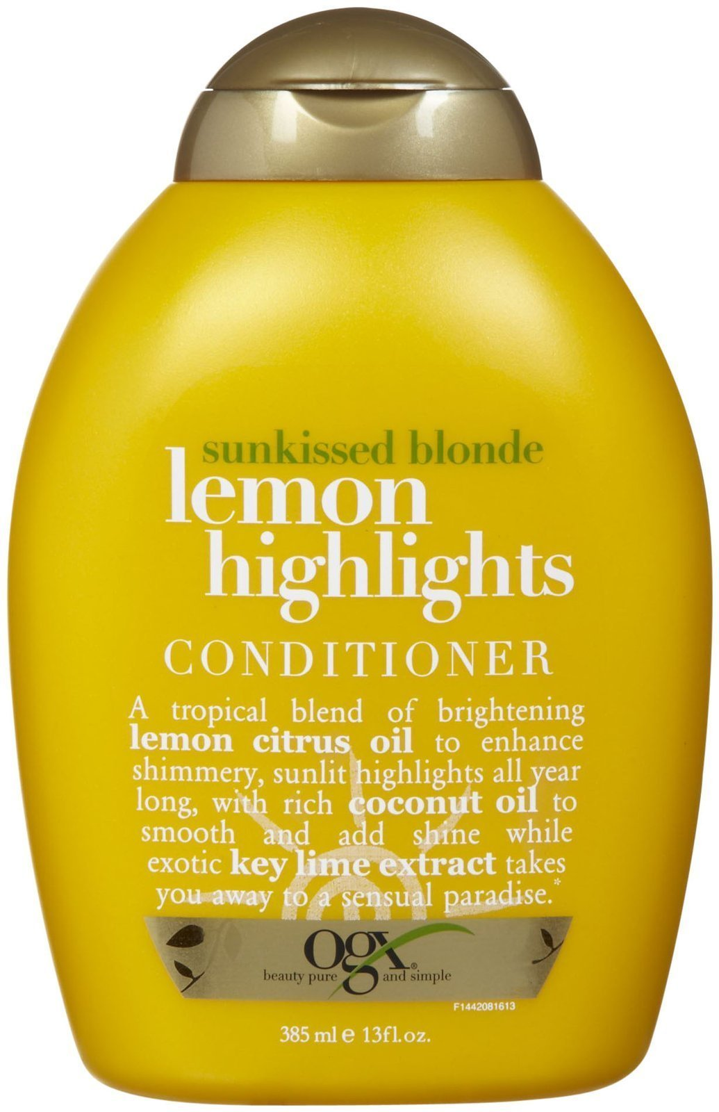 Sunkissed Blonde Lemon Highlights Conditioner