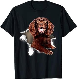 Boykin Spaniel dog torn shirt