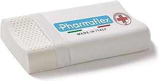 Pharmaflex [PREMIUM] | Made in Italy, Dispositivo Médico para la Cervicalgia Memory Foam, Cojín Ortopédico Ergonómico, Almohada Cervical para el Cuello y el Dolor Cervical