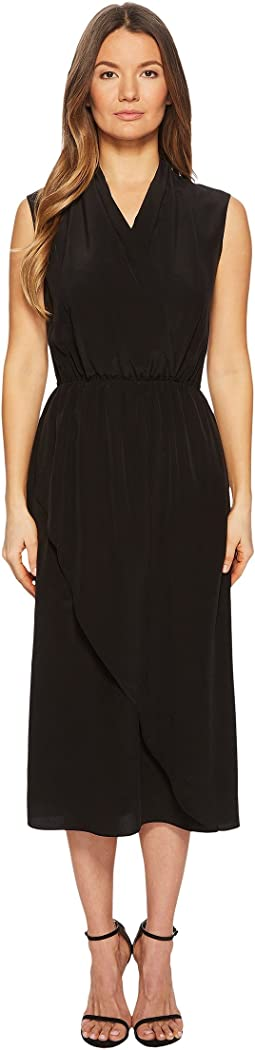 Vince - Draped Cross Front Dress