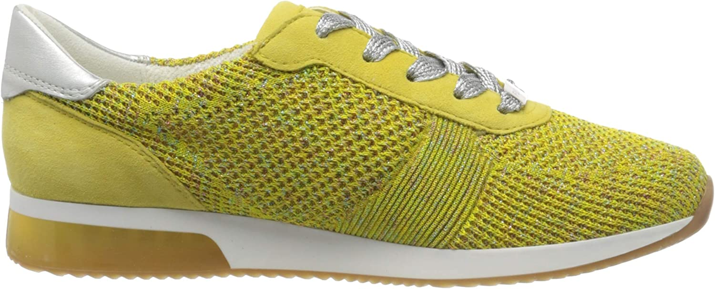 ARA Lissabon, Zapatillas para Mujer Amarillo Candy Yellow Yellow Weissgold 10