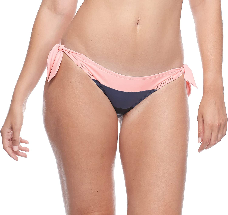 Skye Women's Popular overseas Finally popular brand Standard Sash Tie Med Bottom Bikini Swimwear Side