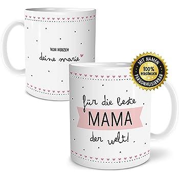 Tasse Mama personalisiert mit den Namen der