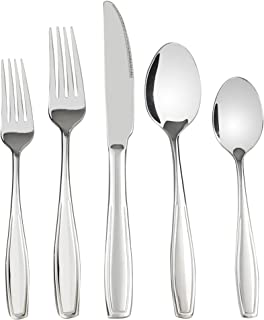 Pekky 80-piece Stainless Steel Flatware Set, Service for 16