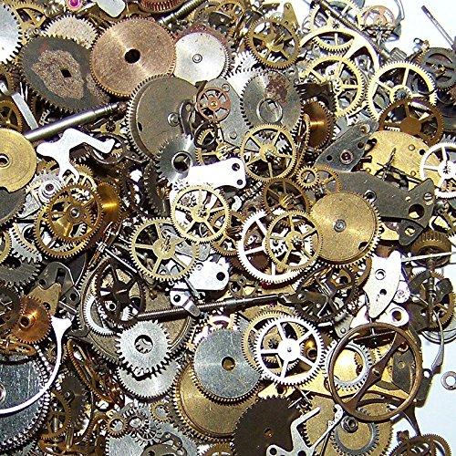 10g Steampunk Muñeca Reloj Antiguo piezas engranajes Ruedas