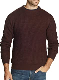 Weatherproof Vintage Crew Neck Chunky Knit Pullover Sweater