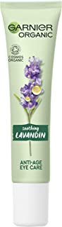 Garnier Organic Soothing Lavandin Anti Age Eye Cream, Enriched With Vitamin E and Organic Argan Oil for Smooth and Refresh...