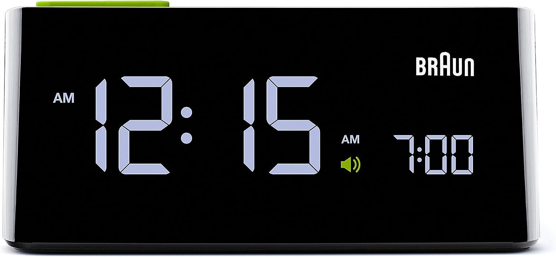 Braun Men's Electric Branded goods Digital Popularity Clock Alarm