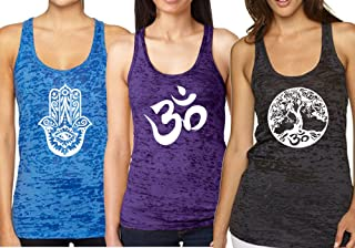 Epic MMA Gear Yoga Tank Parte Superior - Camiseta de Tirantes de Fitness - Fun Pack