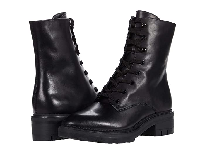 Vintage Boots, Retro Boots Dolce Vita Lottie Black Eco Leather Womens Shoes $135.99 AT vintagedancer.com