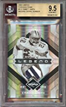 2009 limited threads prime #115 EMMITT SMITH dallas cowboys jersey BGS 9.5 Graded Card